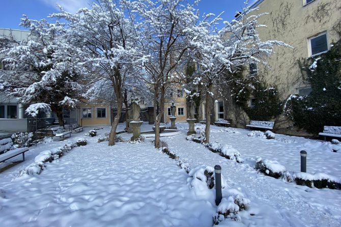 Die Noris Radiologie im Winter